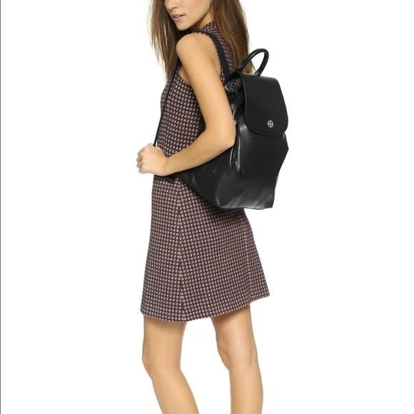 Tory Burch Handbags - Tory Burch Brody Leather Backpack
